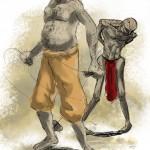 Slavedriver & slave concept